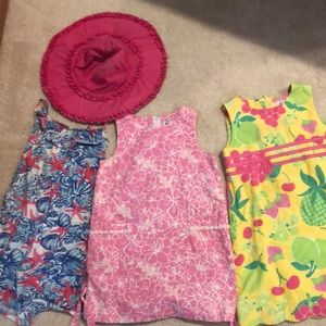 Lilly Pulitzer Lot of  Girl clothes